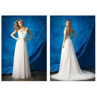 A line fashion style strapless girls prom ball gown wedding dresses