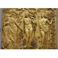 Cheap Friendship Outdoor Metal Bronze Relief For Wall Decoration Customized Size for sale