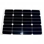 Cheap Bending Thin Film RV Flexible Solar Panels , 30W 12V Solar Panels For RV Campers for sale