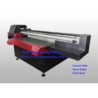 Cheap Digital Uv Flatbed Printing Machine , Wide Format Flatbed Printer High Speed for sale