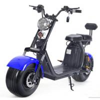 Buy cheap EcoRider 60v 12ah double Lithium Battery for choice Electric Harley Scooter With 1500W Brushless Motor , CE Certificate from wholesalers