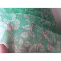 Cheap Customized Printing PP Non Woven Fabric Anti Static For Face Mask / Home Textile for sale