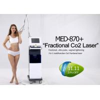 Cheap Multifunction Co2 Fractional Laser Machine For Acne Scar / Strech Mark Removal for sale