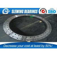 China Easy Installation Precision Slew Ring Gears , Pitch Bearing Wind Turbine on sale