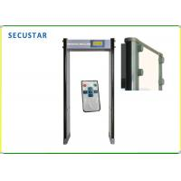 Cheap 33 Zone Walk Through Security Metal Detectors , Multi Zone Metal Detector for sale