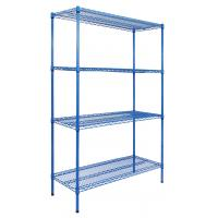 Cheap Commercial Polymer Shelving And Plastic Stainless Steel Chromed Plated With Powder Coated Wire Shelf for sale