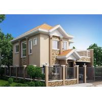 Cheap Fireproof Soundproof Prefab Steel House Anti - Pressure Eco - Friendly for sale