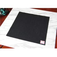 Quality 720 G Wool Blend Fabric For Coats , Mens Winter Vest Heavy Thick Wool Fabric wholesale