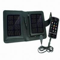 Cheap Portable Solar Charger, Apply to Charging Outdoor, 5 to 6V/500mA for sale