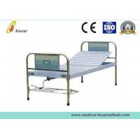 Durable Stainless Steel Hand Control Medical Hospital Beds Single Crank Bed (ALS-M114) Manufactures