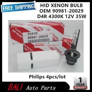 China Free shipping HID Xenon Bulb 90981-20029 D4R 4300K 35W for YARIS COROLLA PRIUS HIACE 4pcs/lot on sale