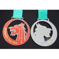 Cheap Die Casting Sports Award Medals 80 * 3mm For Dragon Boat Race / Sailboat for sale