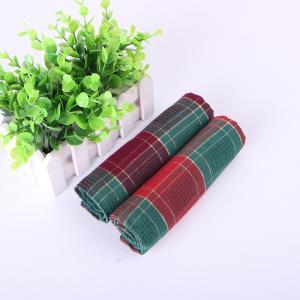 Fashion Design Reactive Kitchen Dish Cloths , Soft Cotton Tea Towels For House