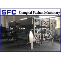 Cheap SUS 304 Belt Filter Press Dewatering Equipment With Continuous Auto Running for sale