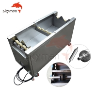 Cheap 4500W Anilox Rolls Ultrasonic Cleaning Equipment 40Khz For Printing Cylinder for sale