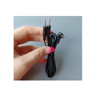 Cheap Replacement Electrode Leads Wires/Cables- 2.35mm Safety-Plug with Standard 2mm Pins Connectors  2 buyers for sale