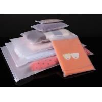Cheap T Shirt Garment Plastic Packaging Bags , Clear Plastic Bags With Custom Service for sale