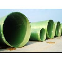 China FRP WATER PIPE GRP / FRP Fiberglass Pipe factory supply customized size on sale