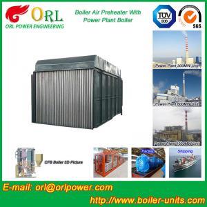 Carbon Steel Boiler Air Preheater / Airpreheater Boiler Spare Part Fire Prevention