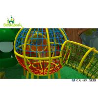 Cheap Net Rope Plastic Baby Indoor Playground For Residential Quarters / Community for sale