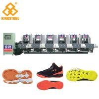 Buy cheap Semi Automatic One Color Rubber Sole Making Machine For High Grade Leather Shoes from wholesalers