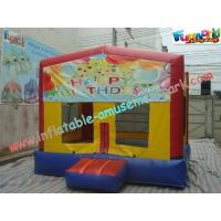 Cheap Inflatable Commercial Bouncy Castles Customized For Kids for sale
