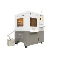 Cheap 60W CCD Vision Fiber Laser Marking Machine Accurate Positioning for sale