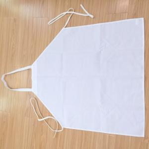 """Cheap 100% Spun Polyester Bib Apron white 30*35"""" for sale"""