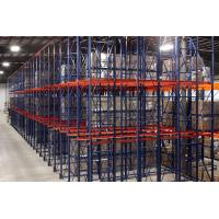 Cheap Anti Rust Storage Shelves , Industrial Drive-in Storage Warehouse Metal Rack for sale