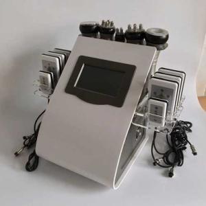 Cheap rf probe Touch Screen Laser Lipo Cavitation Machine Frequency 5MHz 100KPA Pressure for sale