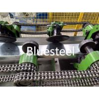 Steel Profile C Z Shape C Channel Purlin Roll Forming Machine With Pre - Cutting Manufactures