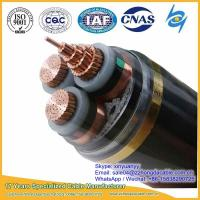 Cheap Hot sale 10kV 3x120mm2 XLPE Insulated Steel Tape Armoured Power Cable for sale