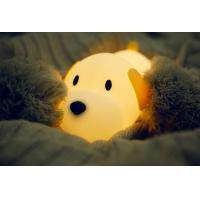 Cheap LED Cute Dog Baby Nursery Night Light For Night Feeds RoHs Approved for sale