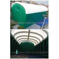 Cheap Huge PVC Tarpaulin Sealed Inflatable Party Tent with Air Pumps for sale