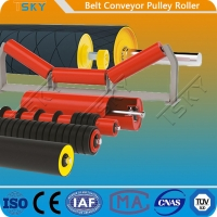 Cheap Motorized Rubber Lagging Head Driving Conveyor Drum Pulley Roller for sale