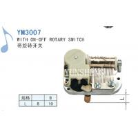 Cheap Yunsheng 18 Note Miniature Movement with on-off Rotary Switch (YM3007) for sale