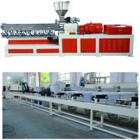 Cheap Electricity Twin Screw Extruder Granulation Pelletizing System PP PE Conveyor Belt Machine for sale