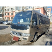 Cheap 2013 Year Toyota 30 Seats Gasoline Used Coaster Bus for sale