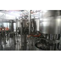 Cheap 4 in 1 non-carbonated juice Pulp Piston Filling monoblock Machine 304 stainless steel for sale