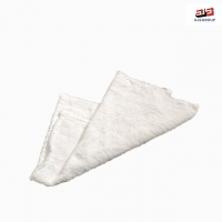 Cheap Ship Cleaning Lint Free Used Sewing White Little Square Cotton Towel Rags for sale