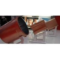 Cheap Round Blank Copper Mould Tube For CCM , Single Tapered Copper Mould Plate Optional Size for sale