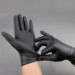 China Black nitrile glove texfured finger Disposable Nitrile Gloves3.0g/3.5g/4.0g/4.5g/5.0g on sale