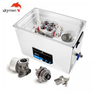 Cheap Degassing 3 Gallon Sonic Ultrasonic Cleaner 480W For Metal Stamping Parts for sale
