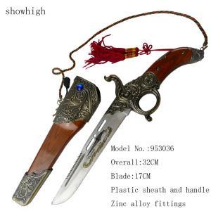 Cheap decorative german knife gun shape knife for sale