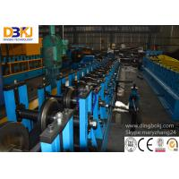 Touching Screen C Purlin Roll Forming Machine With 76mm Material Manufactures