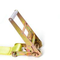 Quality Heavy duty customized color ratchet lashing tie down straps 100% Polyester wholesale