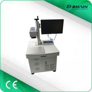 China Fiber laser 3d laser printer for stainless steel metal plate silver gold fiber laser marking on sale