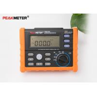 Cheap Multifunctional Earth Ground Resistance Tester 0 Ohm To 4K Ohm And 100 Groups Display for sale