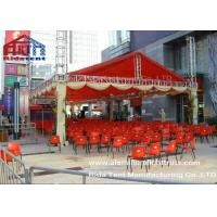 400mm Spigot Triangle Stand Lighting System Double PVC Fabric Cover For Outdoor Concert