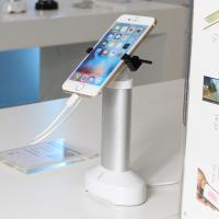 Cheap Retail security display cell phone holder with alarm sensor and charging cord for phone shops for sale